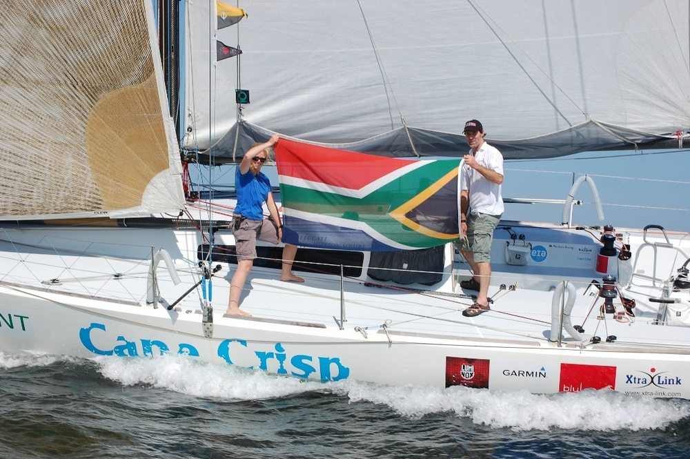 Nick Leggatt and Phillippa Hutton-Squire take 3rd in Leg 3 with Phesheya-Racing