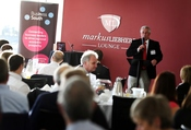 Representatives of South Coast businesses gather at St. Mary's Stadium, home of Southampton FC